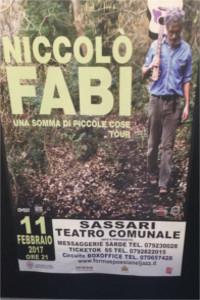 Niccolo Fabi 11-02-2017 Sassari tertro Comunale