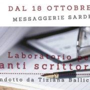 Laboratorio per aspiranti scrittori - Livello iniziale Condotto da Tiziana Ballicu immagine