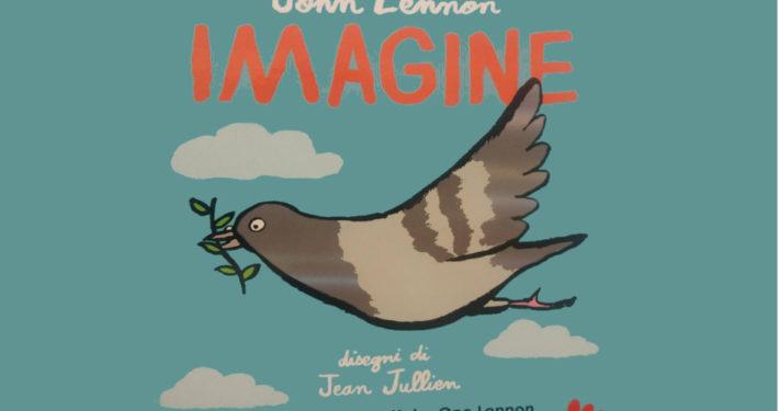 John Lennon Imagine evidenza