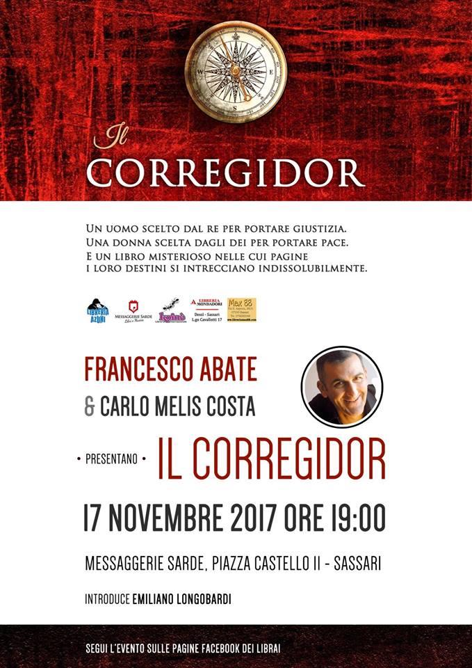 Il CORREGIDOR Francesco Abate e Carlo Augusto Melis Costa