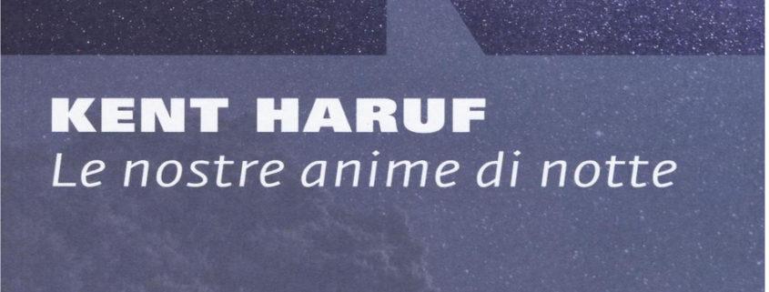 Le nostre anime di notte di Kent Haruf evidenza
