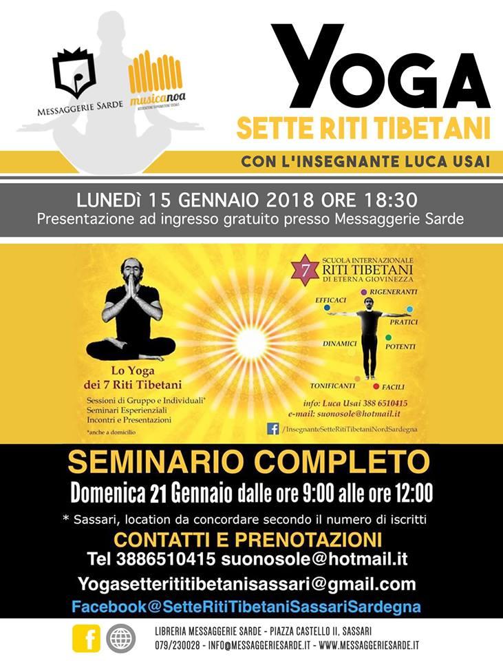 Yoga 7 Riti Tibetani locandina