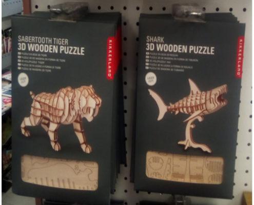 Kikkerland puxzzle di legno