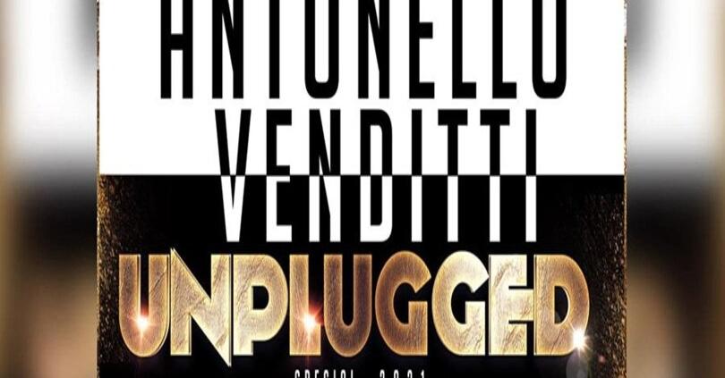 MESSAGGERIE SARDE SASSARI - UNPLUGGED SPECIAL 2021 - ANTONELLO VENDITTI